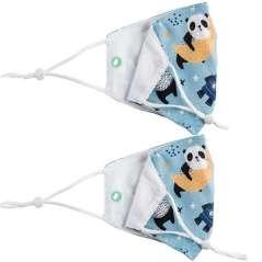 Herbruikbare Verstelbare Kindermaskers Pack 2