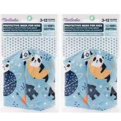 Reusable Adjustable Kids Masks Pack 2