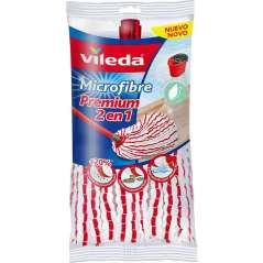 Vileda Microfibras Fregona Premium 2 en 1 Pack 3 Unidades