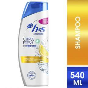 H&S Anti-Dandruff Shampoo Citrus Fresh 540 ml