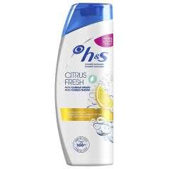H&S Shampoo Citrus Fresh Antiforfora Capelli Grassi 540 ml