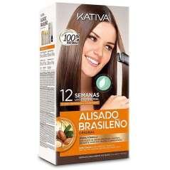 Kativa Kit Trattamento Liscia Brasiliana
