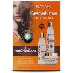 Kativa Post Alisado Kit De 3 Productos