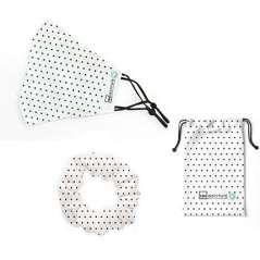 Verstelbare Maskers Met Covers Meer Scrunchies