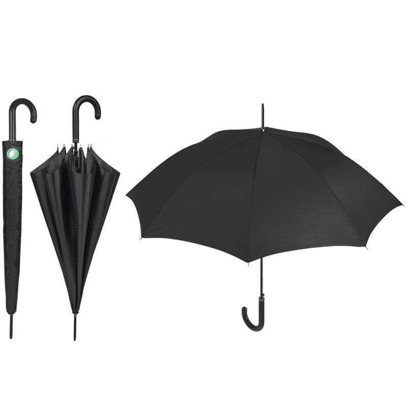 Paraguas Hombre Largo Automático Negro