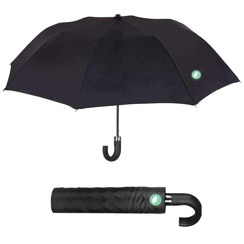 Paraguas Hombre Plegable Negro