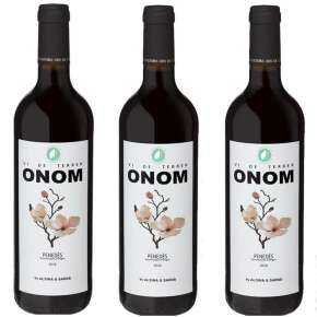 Wine Of Penedès Red 3 Bottles Onom