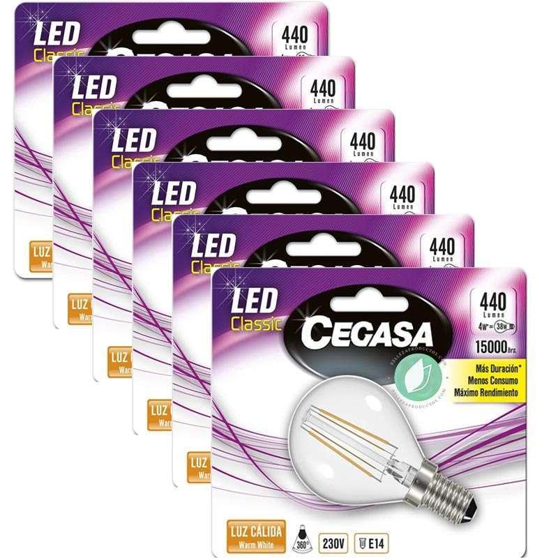 Lampadine LED E14 Pack 6 Unità