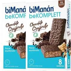 biManán Komplett Crunchy Chocolate 16 Bars