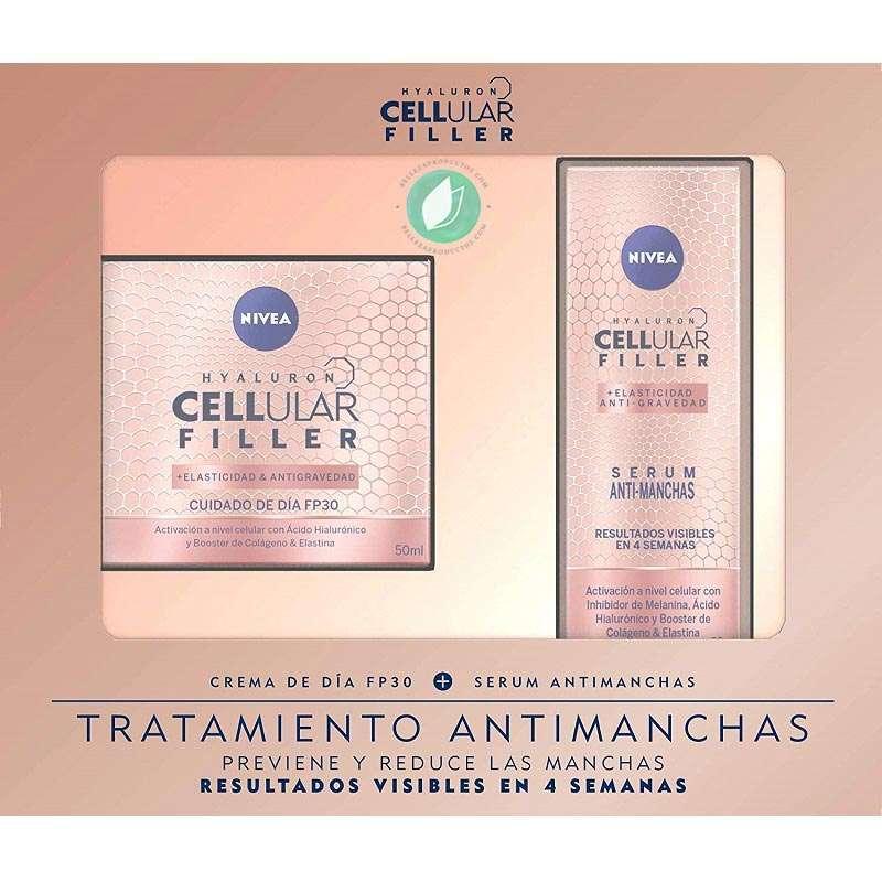 Nivea Pack Antimanchas Crema Más Sérum Hyaluron