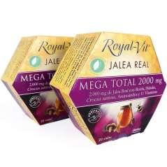 Pack 2 Royal Jelly Mega Total