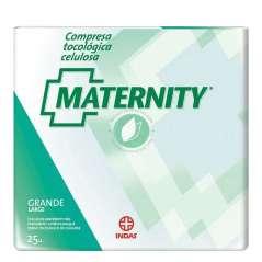 Pack 2x25 Indasec Maternity Compresas Celulosa Grande