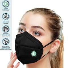 Zwarte Maskers FFP2