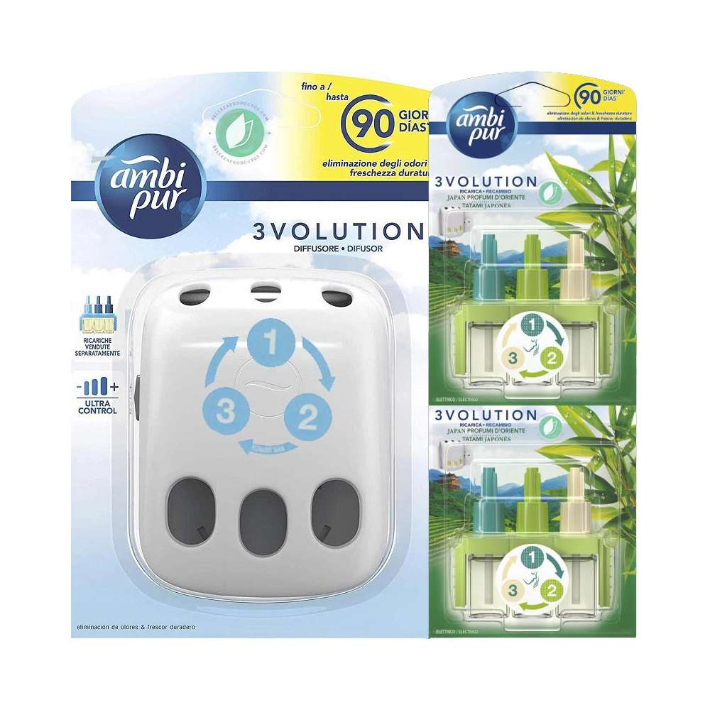 Ambi Pur 3Volution Diffuser With Refill
