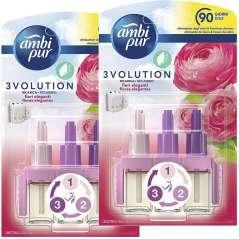 Air Freshener 3Volution Elegant Flowers 3 Fragrances