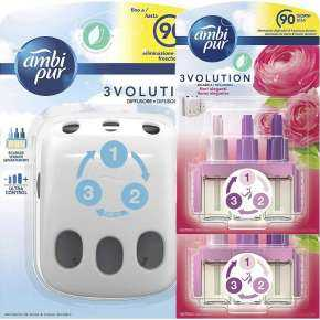 Ambi Pur 3Volution Diffuser And 2 Replacement