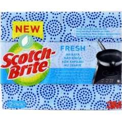 Scotch Brite Fresh Esfregão Anti-riscos Pack De 4 Unidades