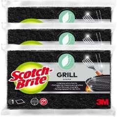 Scotch-Brite Schuursponsje Voor Grills Pak 3
