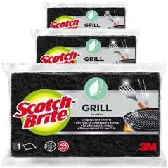 Scotch-Brite Scourer For Grills Pack 3
