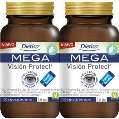 Dietisa Pack 2 Mega Vision Protect 60 Vcaps