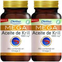 Mega Omega 3 Aceite de Krill 1000 mg 120 Parels Dietisa