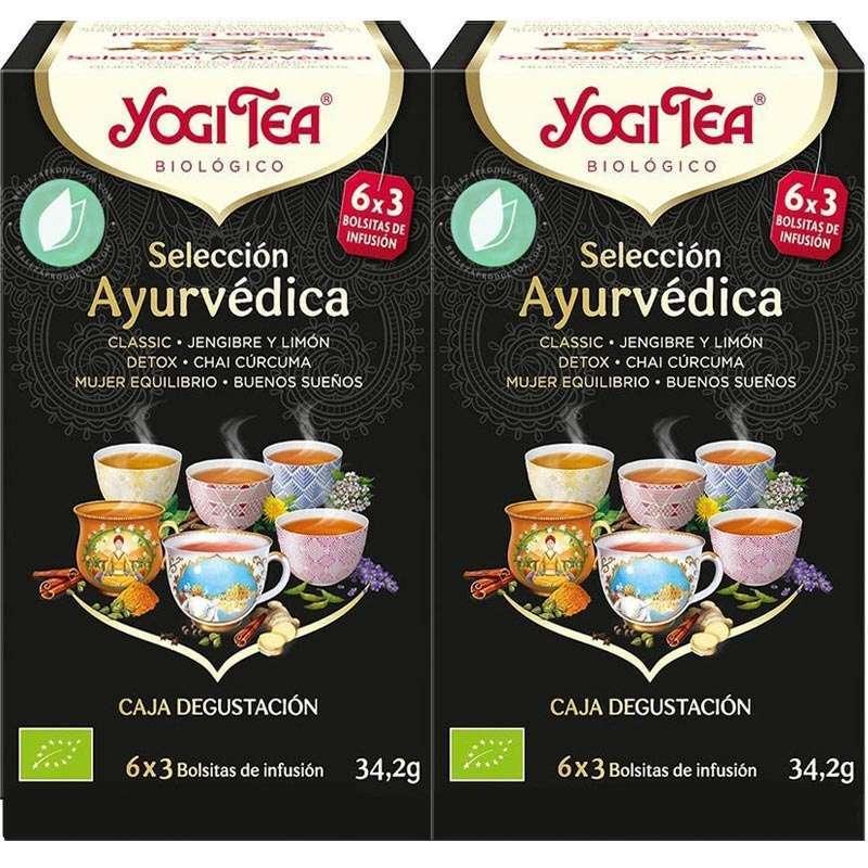Yogi Tea Original Selección Ayurvédica 36 Infusiones