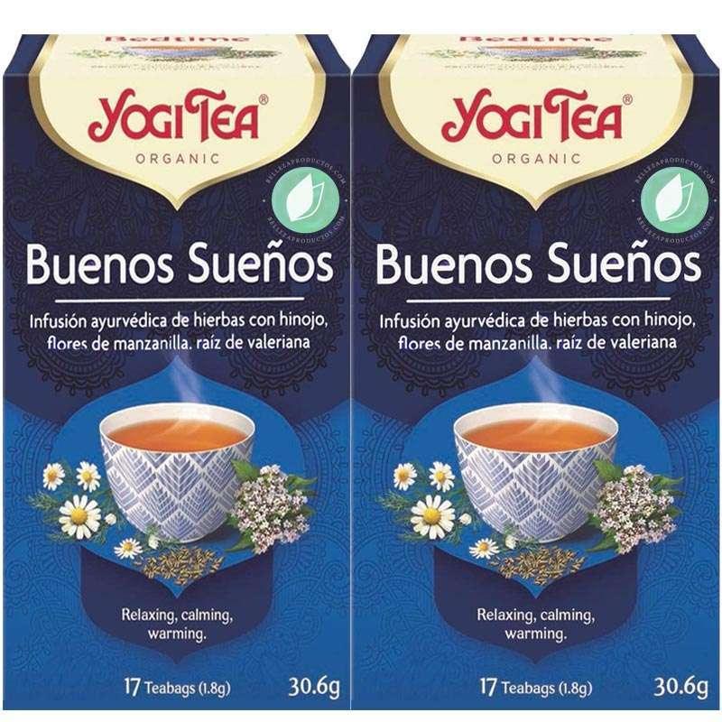 Yogi Tea Buenos Sueños 34 Infusiones