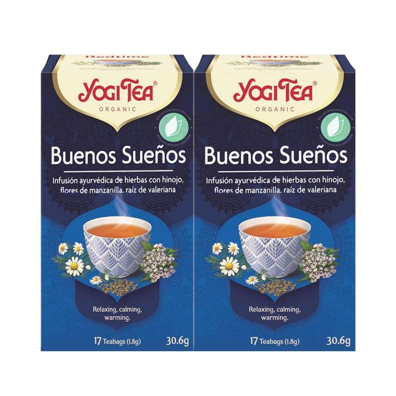 Yogi Tea Good Dreams 34 Infusions