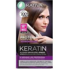 Kativa Set Keratin Alisado Brasileño Express
