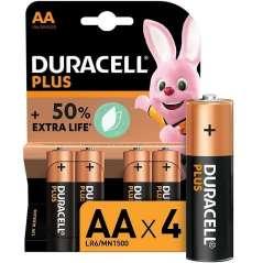Duracell Alkaline Batteries Plus AA Pack 8