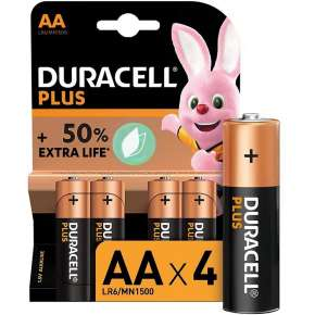 Duracell Pilas Alcalinas Plus AA Pack 8
