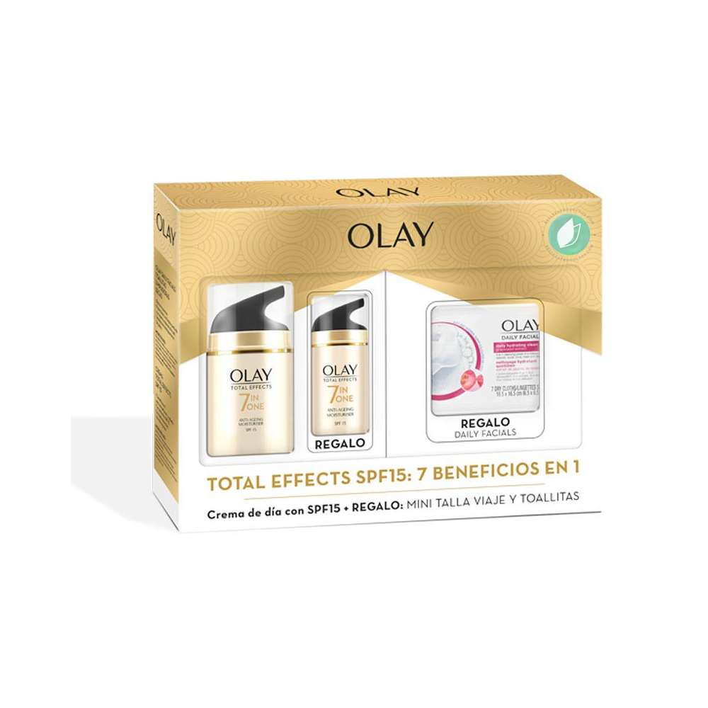 Pack Olay Total Effects Anti Edad Día