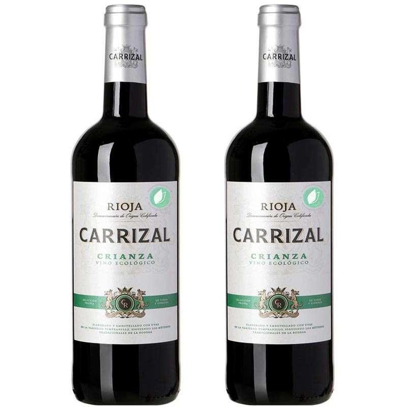 2 Rioja Organic Crianza Red Wines