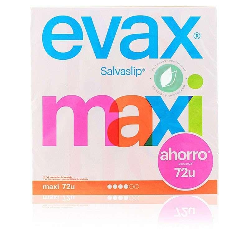 Evax Salva Slip Maxi Protege Slip Pack 72 Unidades
