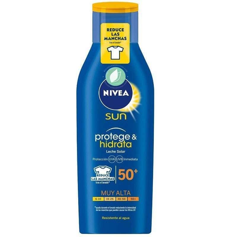 Nivea Sun Crema Solar Hidratante Protege & Hidrata FP 50+ UV Muy Alta Protección 400 ml