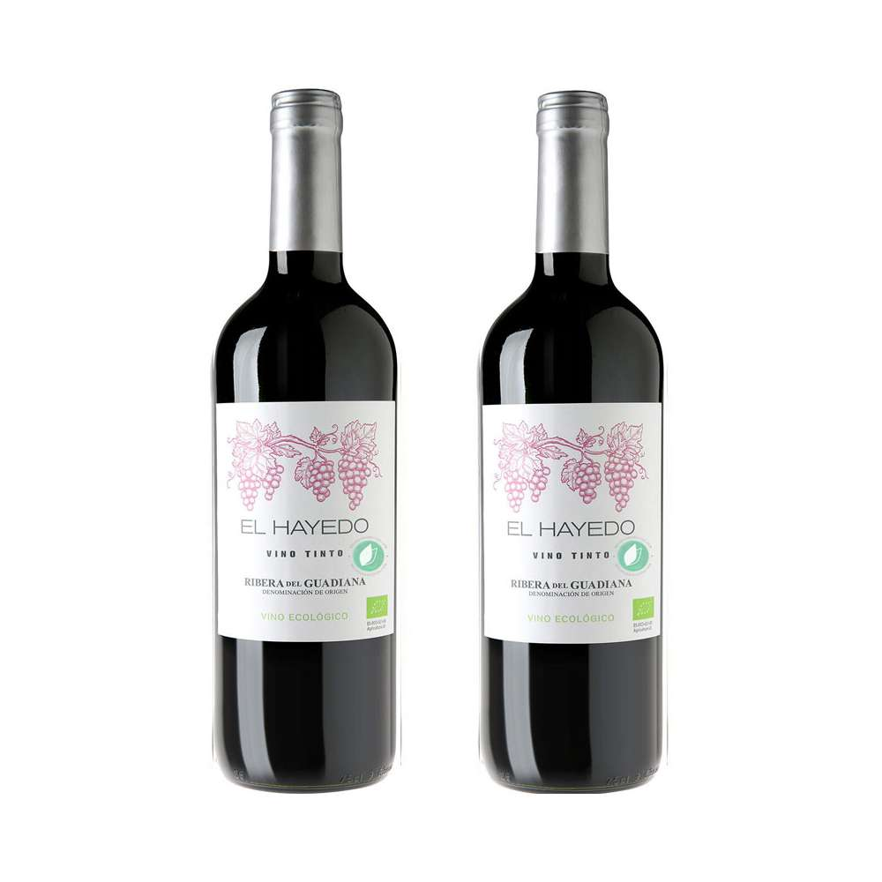 Bio Red Wine El Hayedo 2 Units