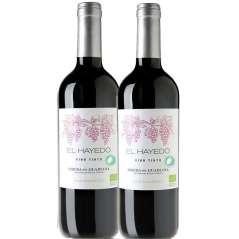 Bio Rode Wijn El Hayedo 2 Stuks