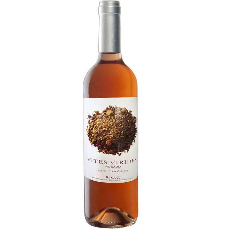 Vino Ecológico Rioja Rosado Vites Virides