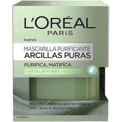 L'Oréal Mascarilla Arcillas Puras Purificante Verde 50 ml