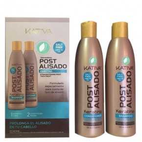 Kativa Post Straightening Shampoo And Conditioner