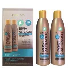 Kativa Post Straightening Shampoo And Conditioner