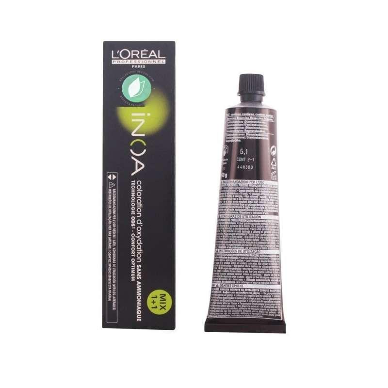 L'Oréal Inoa Tinte Castaño Claro Ceniza 5-1