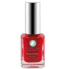 Long-Lasting Pearl Red Nail Polish Weeklac Nº 10