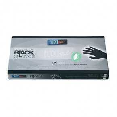 Small Black Latex Gloves