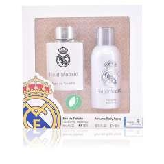 Real Madrid Set Eau De Toilette Homem