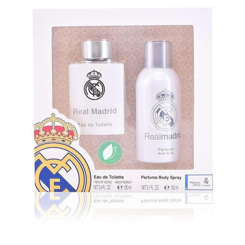 Real Madrid Set Perfume Hombre