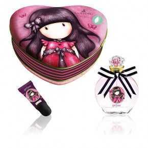 Gorjuss Cologne Set 50ml And Lip Gloss In Metal Case