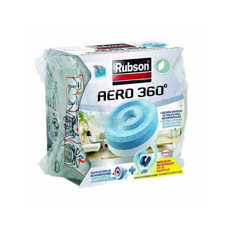 Rubson Aero 360 Recambio Para Deshumidificador Color Azul