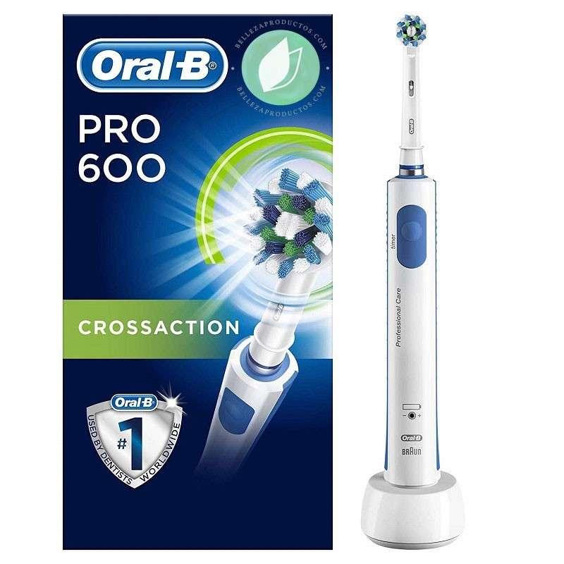 Oral-B PRO 600 CrossAction Cepillo De Dientes Eléctrico Edición Morado
