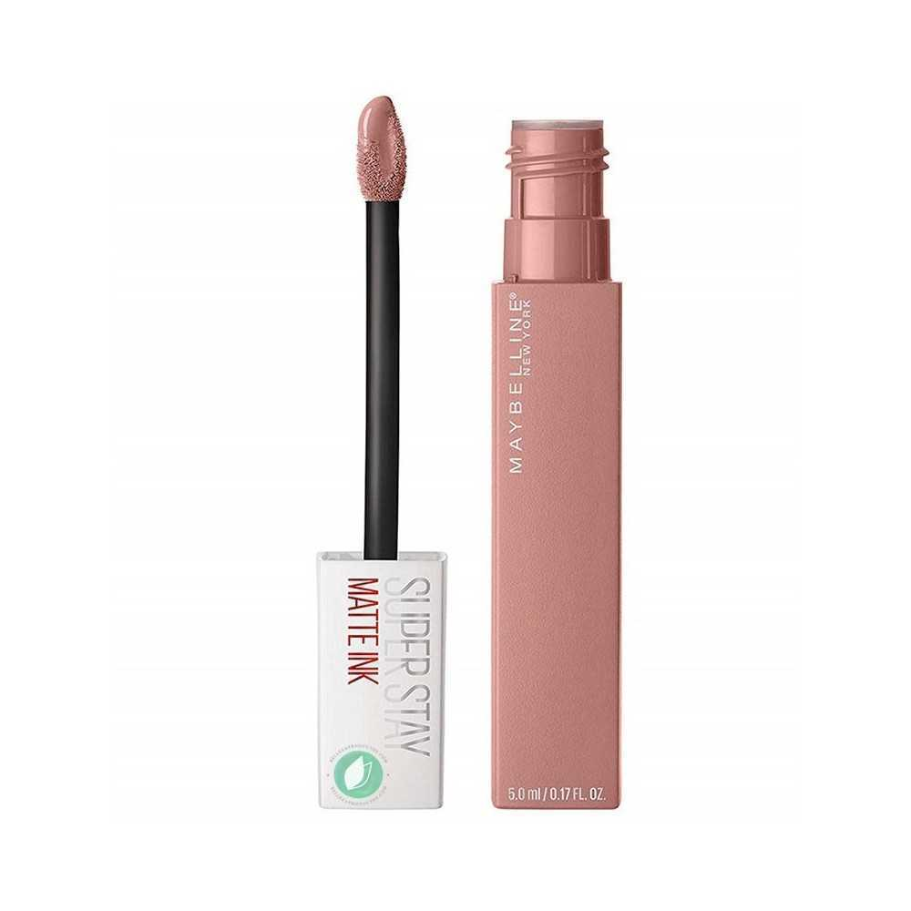 Maybelline Pintalabios Superstay Matte Ink Nudes Tono 60 Poet